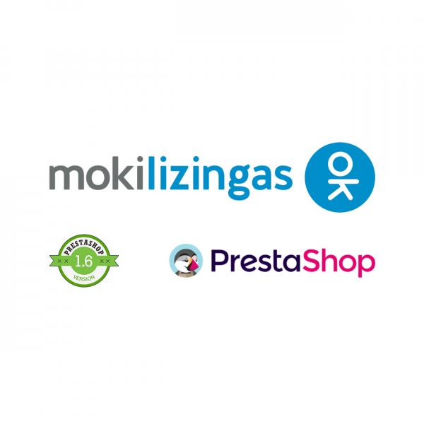 Prestashop 1.6 Mokilizingas atsiskaitymo modulis