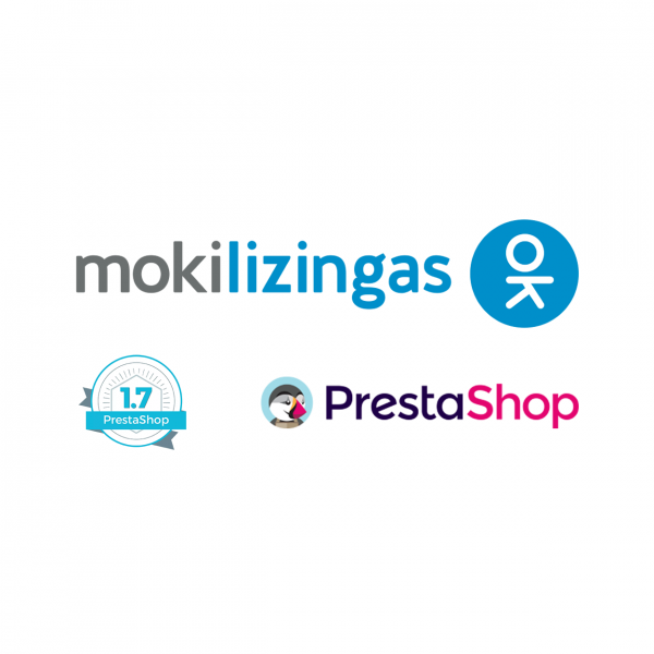 Prestashop 1.7 Mokilizingas atsiskaitymo modulis