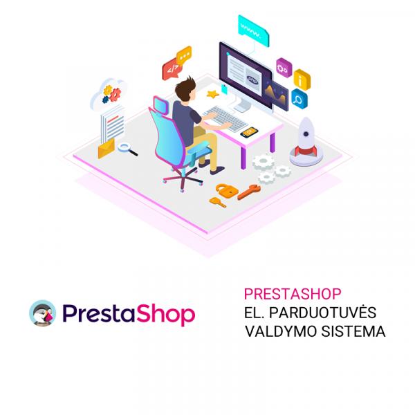 Prestashop el. parduotuvės valdymo sistema