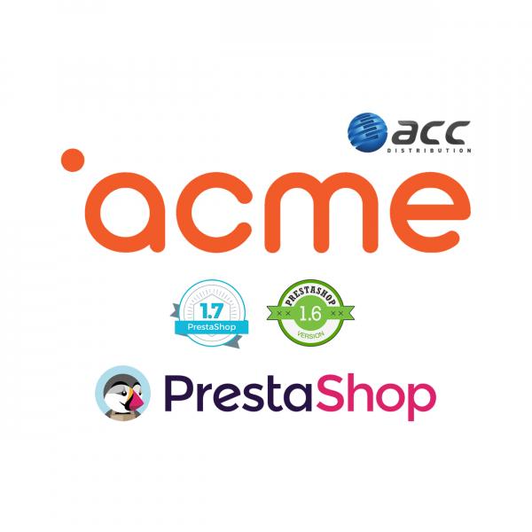 Prestashop Acme importo modulis Prestashop - 1