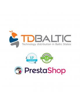 Prestashop TD BALTIC importo modulis Prestashop - 1
